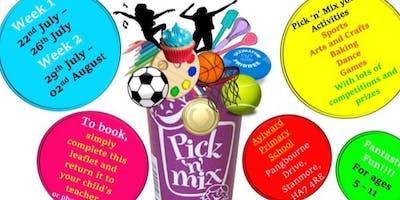 Pick 'n' Mix Activity Camp - Summer Scheme - Children's Holiday Camp