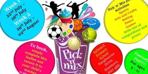 Pick 'n' Mix Activity Camp - Summer Scheme - Children's Holiday Camp