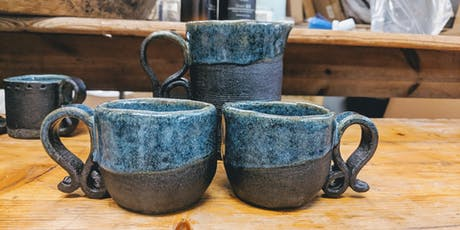 Adult pottery workshop - Mugs. tickets