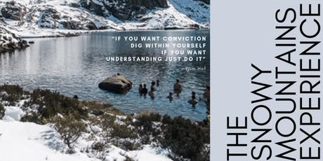 The Snowy Mountains Wim Hof Experience tickets