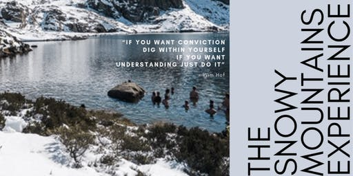 The Snowy Mountains Wim Hof Experience