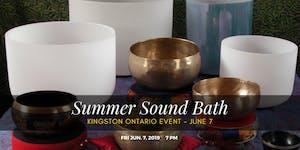 Sound bath &  Healing event (Kingston)