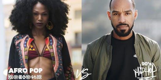Afro Pop versus 90's Hip Hop with Alicia & Chris
