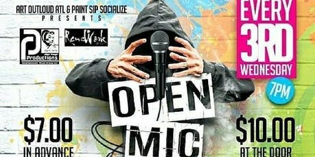 Art Out Loud ATL: Open Mic Variety Show-EAV tickets