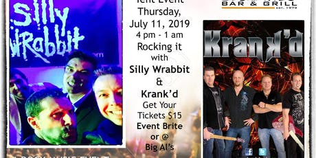 80'S AND BEYOND OUTDOOR STAMPEDE TENT PARTY - STARRING SILLY WRABBIT & KRANK'D tickets