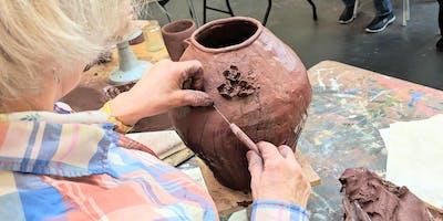 ***** pottery workshop - Vases.