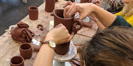 Adult pottery workshop- Evening four week course. tickets