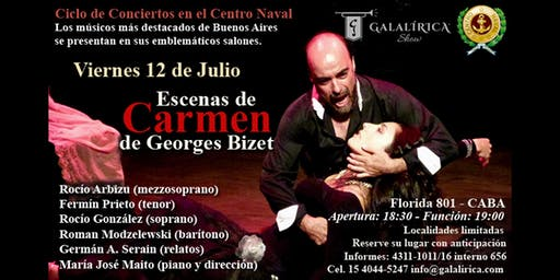 Escenas de la ópera Carmen