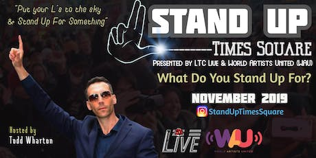 Stand Up Times Square tickets