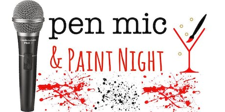 Open Mic & Paint Night  tickets