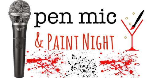 Open Mic & Paint Night