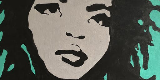 Lauryn Hill Paint & Sip Edition