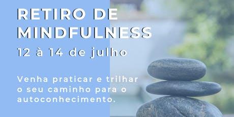 RETIRO DE MINDFULNESS (VIDA PLENA) ingressos