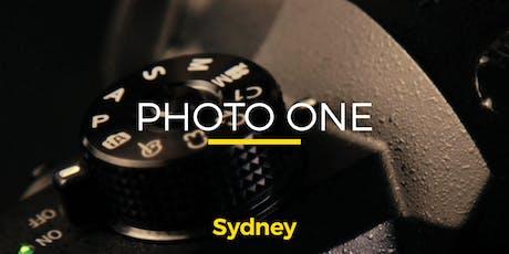 Photo One | Sydney | Beginner (117547) tickets