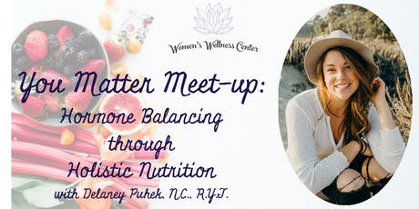 Hormone Balancing through Holistic Nutrition tickets