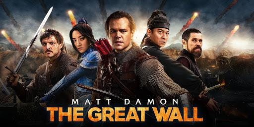 Free Film Screening: The Great Wall