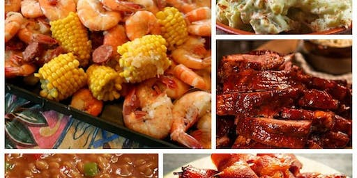 Seafood Boil and BBQ Buffet!