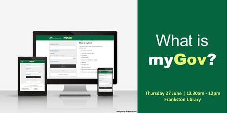 What is myGov? tickets