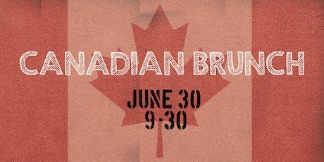 Canadian Brunch tickets
