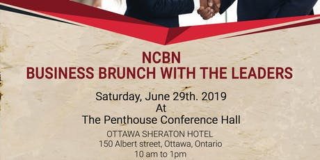 NCBN BUSINESS BRUNCH WITH THE LEADERSHIP | JUNE EDITION tickets