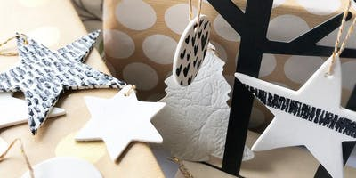 ***** Christmas themed pottery workshop - Porcelain full day.