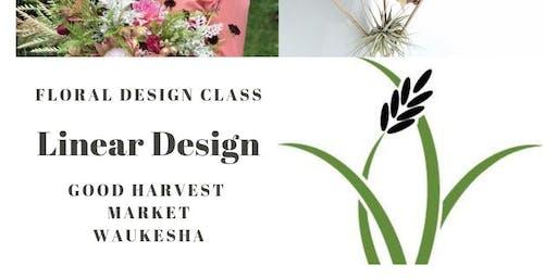 Linear Floral Design
