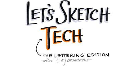 Let's Sketch Tech! JULY meetup tickets