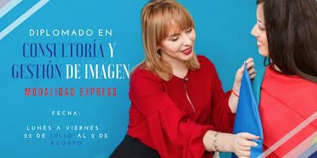 Diplomado en Consultoría y Gestión de Imagen Modalidad Express boletos