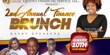 The 2nd Annual Finance Brunch  tickets