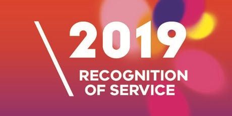 Recognition of Service Awards - WSW tickets