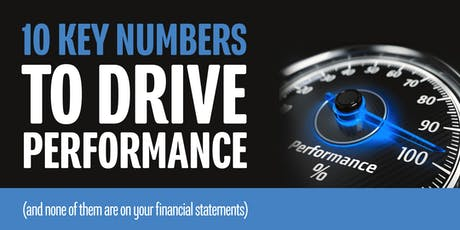 10 Key Numbers to Drive Performance tickets
