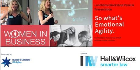 CBD Women in Business Network presents: Are You Emotionally Agile Enough?   tickets