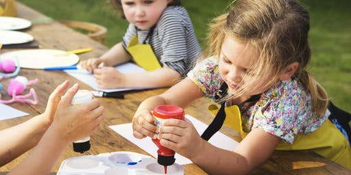 AGES 4 - 6: CREATIVITY FOR CUTIES: KIDS ART WORKSHOP