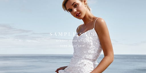 Karen Willis Holmes 2019 Sample Sale