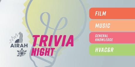 AIRAH Trivia Night tickets