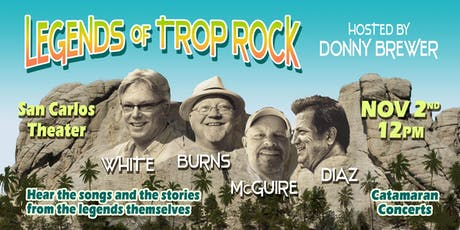 Legends of Trop Rock, Hosted By Donny Brewer tickets