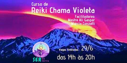 Curso de Reiki Chama Violeta