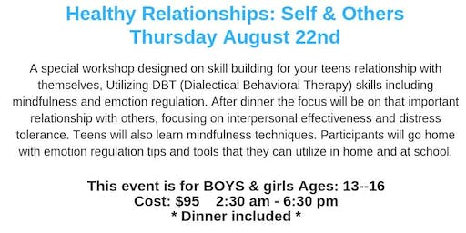 Healthy Relationships with Self & Others