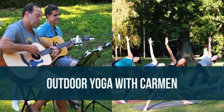 Outdoor Yoga with Carmen tickets