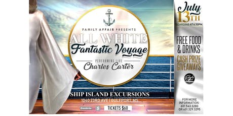 All White Fantastic Voyage  tickets