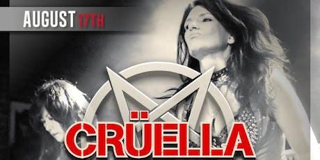 Cruella (All Female Tribute to Motley Crue) + DJ BB Hayes  tickets