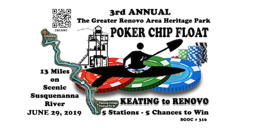 3rd Annual Heritage Park Poker Chip Float