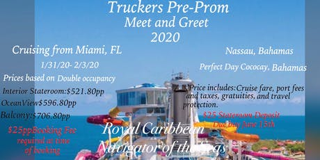TRUCKERS PRE-PROM MEET AND GREET 2020 tickets