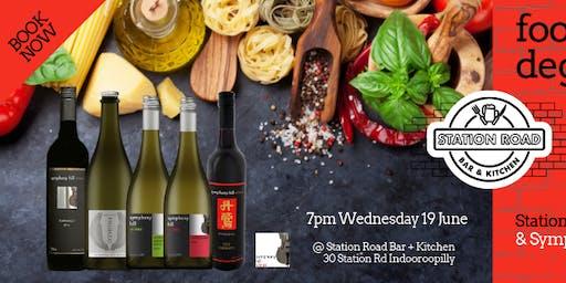 Food + Wine Degustation.
