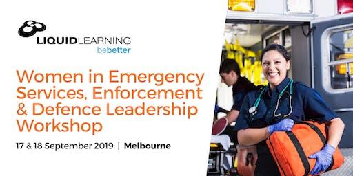 Women in Emergency Services, Enforcement & Defence Leadership Workshop