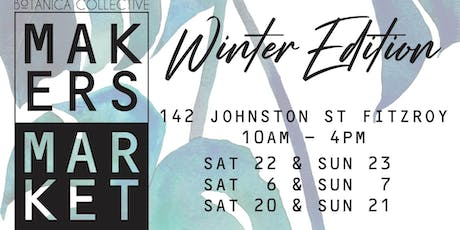 Botanica Collective Makers Market tickets