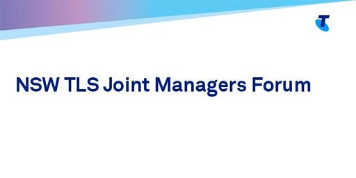 NSW TLS Joint Managers Forum