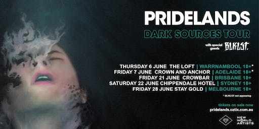 Pridelands 'Dark Sources' Tour