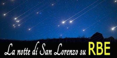 La notte delle stelle su RBE