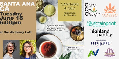Cannabis and CBD Book Event: Book Signing Santa Ana tickets
